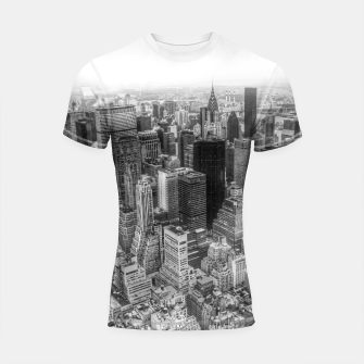 Miniaturka New York City Manhattan Shortsleeve Rashguard, Live Heroes