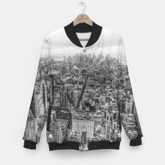 Thumbnail image of New York Manhattan skyline Baseball Jacket, Live Heroes