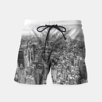 Thumbnail image of New York Manhattan skyline Swim Shorts, Live Heroes
