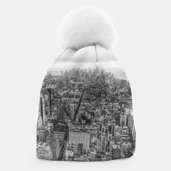 Thumbnail image of New York Manhattan skyline Beanie, Live Heroes