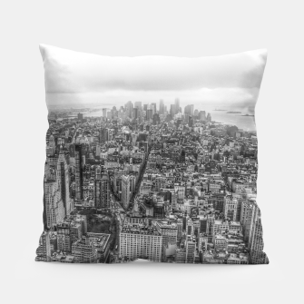 Thumbnail image of New York Manhattan skyline Pillow, Live Heroes