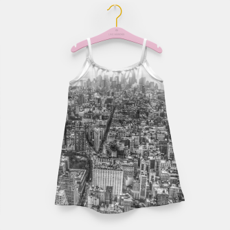 Thumbnail image of New York Manhattan skyline Girl's Dress, Live Heroes