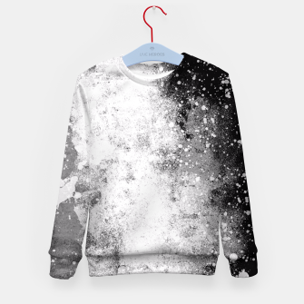 Thumbnail image of Galaxy Greyscale Kid's Sweater, Live Heroes