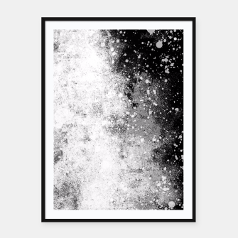 Thumbnail image of Galaxy Greyscale Framed poster, Live Heroes
