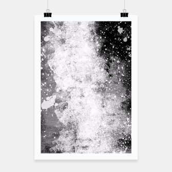 Thumbnail image of Galaxy Greyscale Poster, Live Heroes