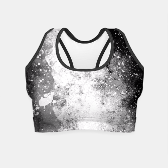 Thumbnail image of Galaxy Greyscale Crop Top, Live Heroes