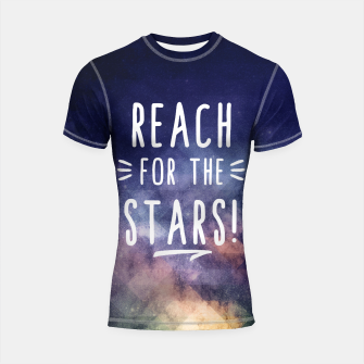 Reach for the Stars Shortsleeve Rashguard miniature