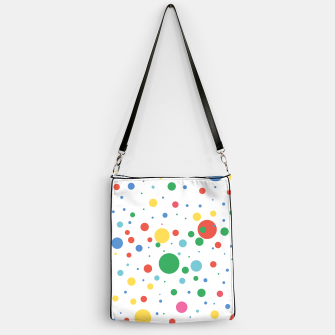 Thumbnail image of Dots Pattern 4 Handtasche, Live Heroes
