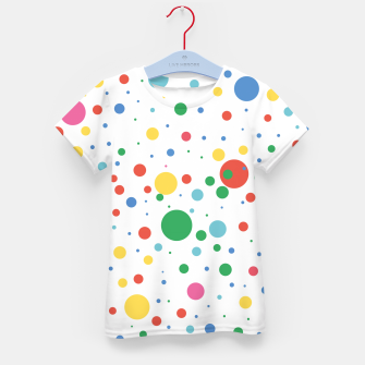 Thumbnail image of Dots Pattern 4 T-Shirt für Kinder, Live Heroes