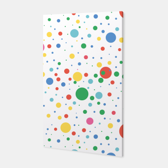 Thumbnail image of Dots Pattern 4 Canvas, Live Heroes