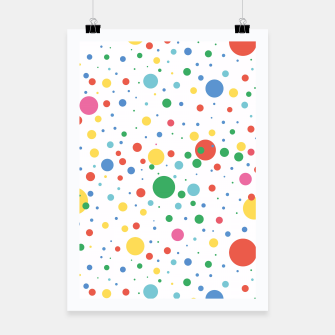 Thumbnail image of Dots Pattern 4 Plakat, Live Heroes