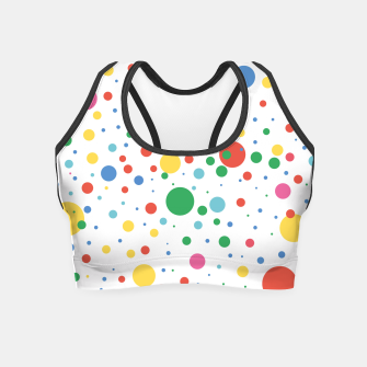Thumbnail image of Dots Pattern 4 Crop Top, Live Heroes