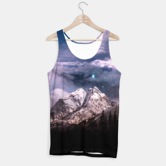 Miniatur Space Time Tank Top, Live Heroes