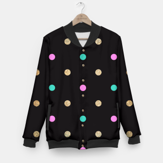 Thumbnail image of Dots Pattern 5 College-Jacke, Live Heroes