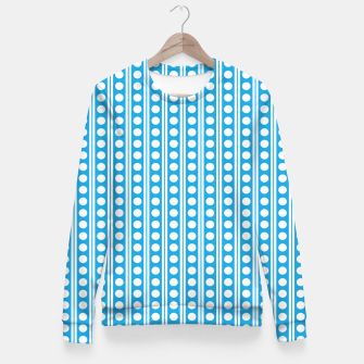 Thumbnail image of Dots Pattern 6 Taillierte Sweatshirt, Live Heroes