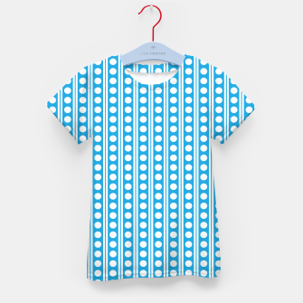 Thumbnail image of Dots Pattern 6 T-Shirt für Kinder, Live Heroes