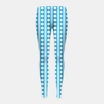 Thumbnail image of Dots Pattern 6 Kinder-Leggins, Live Heroes