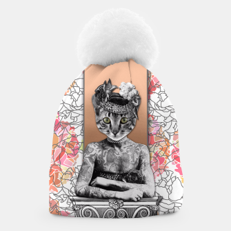 Thumbnail image of CAT WOMAN Beanie, Live Heroes
