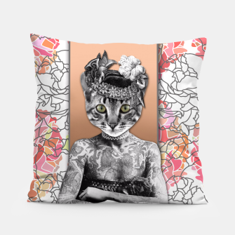 Thumbnail image of CAT WOMAN Pillow, Live Heroes