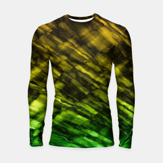 Thumbnail image of Rock Pool in Green and Gold Longsleeve Rashguard , Live Heroes