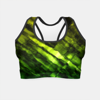 Thumbnail image of Rock Pool in Green and Gold Crop Top, Live Heroes