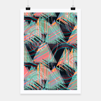 Thumbnail image of Vivid triangles Poster, Live Heroes