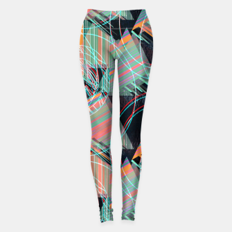 Thumbnail image of Vivid triangles Leggings, Live Heroes