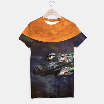Thumbnail image of Space Patrouille T-Shirt, Live Heroes
