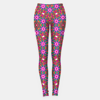 Thumbnail image of FLOWER OF LIFE KALEIDOSCOPE Leggings, Live Heroes
