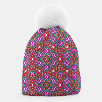 Thumbnail image of FLOWER OF LIFE KALEIDOSCOPE Beanie, Live Heroes