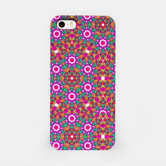 Thumbnail image of FLOWER OF LIFE KALEIDOSCOPE iPhone Case, Live Heroes