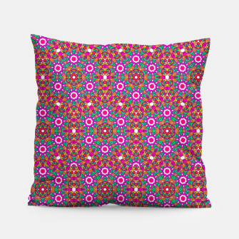 Thumbnail image of FLOWER OF LIFE KALEIDOSCOPE Pillow, Live Heroes