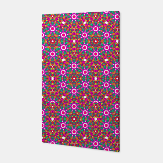 Thumbnail image of FLOWER OF LIFE KALEIDOSCOPE Canvas, Live Heroes