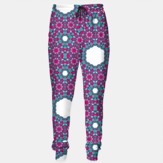 Thumbnail image of PINK AND PURPLE KALEIDOSCOPE Sweatpants, Live Heroes