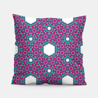 Thumbnail image of PINK AND PURPLE KALEIDOSCOPE Pillow, Live Heroes