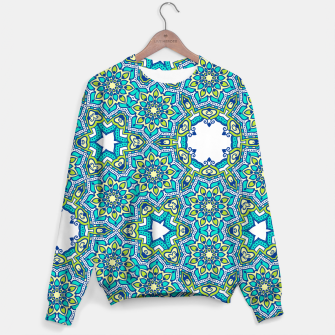 Thumbnail image of MANDALA PATTERN Sweater, Live Heroes