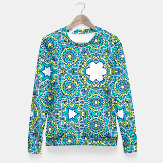 Thumbnail image of MANDALA PATTERN Fitted Waist Sweater, Live Heroes