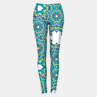 Thumbnail image of MANDALA PATTERN Leggings, Live Heroes