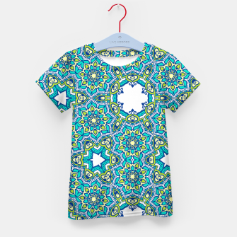 Thumbnail image of MANDALA PATTERN Kid's T-shirt, Live Heroes