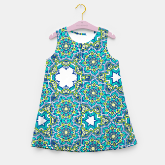 Thumbnail image of MANDALA PATTERN Girl's Summer Dress, Live Heroes