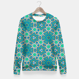 Thumbnail image of ABSTRACT PATTERN  Fitted Waist Sweater, Live Heroes