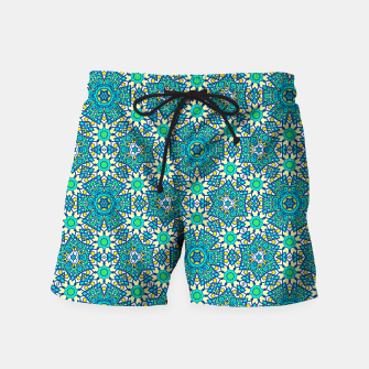 Thumbnail image of ABSTRACT PATTERN  Swim Shorts, Live Heroes