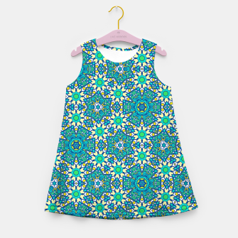Thumbnail image of ABSTRACT PATTERN  Girl's Summer Dress, Live Heroes