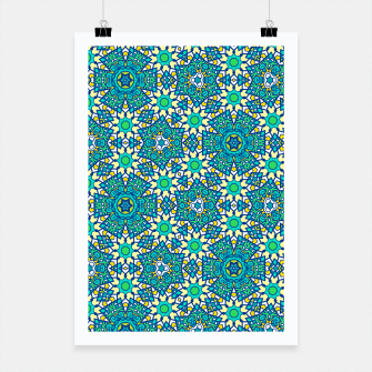 Thumbnail image of ABSTRACT PATTERN  Poster, Live Heroes