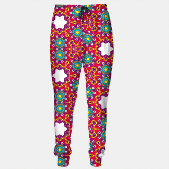 ABSTRACT GEOMETRY PATTERN Sweatpants thumbnail image