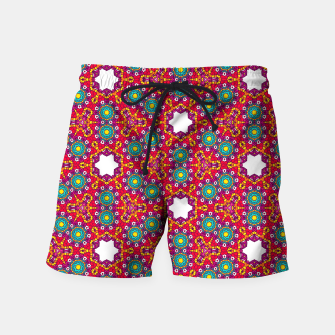 ABSTRACT GEOMETRY PATTERN Swim Shorts thumbnail image
