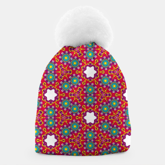 ABSTRACT GEOMETRY PATTERN Beanie thumbnail image