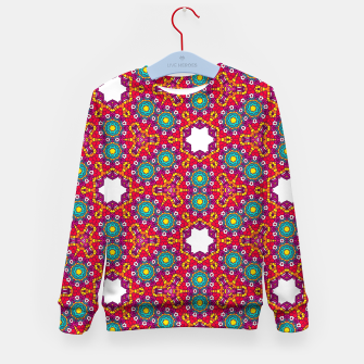 ABSTRACT GEOMETRY PATTERN Kid's Sweater thumbnail image