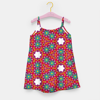 ABSTRACT GEOMETRY PATTERN Girl's Dress thumbnail image