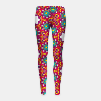ABSTRACT GEOMETRY PATTERN Girl's Leggings thumbnail image